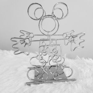 Disney metal chrome Mickey Mouse napkin holder